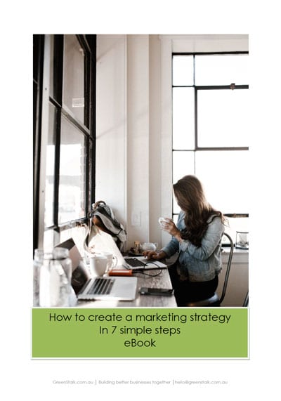 How to Create a Marketing Strategy in 7 Simple Steps eBook image